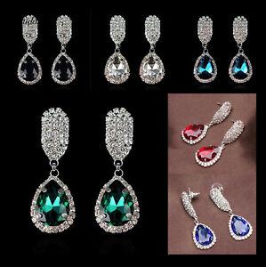 Sparkly, Rhinestone Earrings