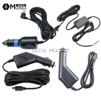 DC 5V 2A Mini USB 1.2m 3m 3.5m Power Charger Adapter Cord Cable for Car DVR GPS