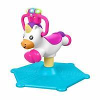 Fisher Price Hinchable Y Giratoria Unicornio Papelería Musical Ride Al Toy Set