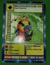 Digimon Card Kunemon - Taco Bell Limited Promo Tb-02 Rare - Bandai 2000 Vg