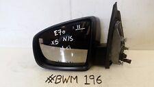 BMW X5 LCI PASSENGER SIDE WING MIRROR AUTO FOLDING DIMMING HEATED CAMERA 7136887