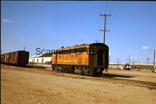 ORIGINAL COLOR TRANSPARENCY SLIDE-Railroad Ferrocarril Sonora Baja California