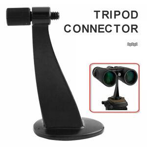 Universal Full Metal Binocular Telescope Monopod Tripod Mount Adapter Bracket US