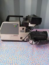 Sony Trinicon HVC-2400 Professional Camcorder Untested for parts or repair