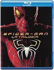 SPIDER-MAN La trilogia BLURAY 1-2-3 (3 Dischi) 2012 + REGALO COSTUME COSPLAY