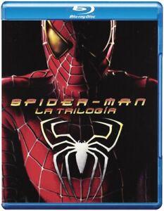 SPIDER-MAN La trilogia BLURAY 1-2-3 (3 Dischi) 2012 SALDI 2021