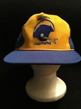 VINTAGE SAN DIEGO CHARGERS CHARGER POWER NFL HAT CAP SNAPBACK TRUCKER RARE!!!