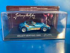 Voiture Johnny Hallyday GILLET VERTIGO 1995 1/43 n°3 test NeufEN BOITE