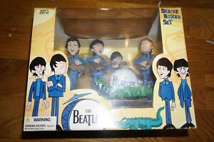 The Beatles Deluxe Boxed Set Mcfarlane Figure NEW Sealed #324