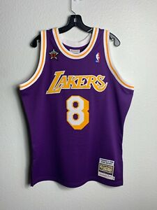 Mens Mitchell & Ness NBA Authentic Jersey All-Star West 1998 Kobe Bryant (L)