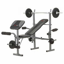Panca Everfit WBK 500 con Leg Extension Cuscino Arm Curl-lat Bar-butterfly
