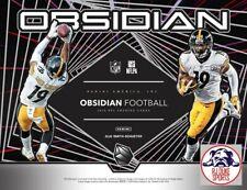 Mack Wilson 2019 Panini Obsidian Football Full Case 12Box Break