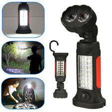 16LED Magnetic Inspection Flashlight Torch Hanging Work light Focus Camping Lamp