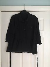 Ladies Black Shirt Blouse - Size 18 - Dorothy Perkins (4)