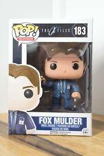 Funko Pop Vinyl The X Files - No 183 Fox  Mulder (Vaulted) RARE