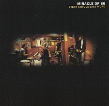 The Miracle of 86 - Every Famous Last Word (CD, 2003, Lakeshore)