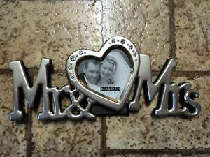 Malden Mr. & Mrs. Picture Frame. Never Used.