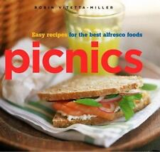 Picnics: Easy Recipes for the Best Alfresco Foods-ExLibrary