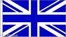 Royal Blue and White Union Jack UK Flag 8'x5'