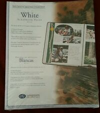 Creative Memories 8 1/2 × 11 white Scrapbook Page Refills