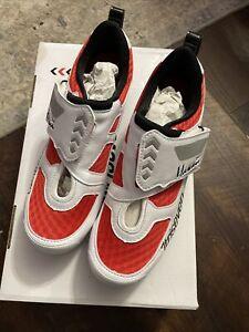 TriSeven Premium Nylon Triathlon Cycling Shoes AB-520 ROAD  Size 38