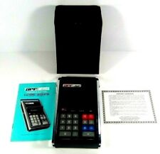 APF Mark V 1970's Green LED Calculator with Case Manuel & Certificate Very Clean