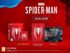 Marvel's Spider-Man Special Edition Sony PlayStation PS4 Game Steelbook Artbook
