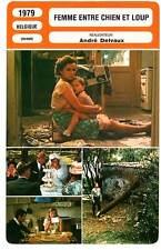 FICHE CINEMA : FEMME ENTRE CHIEN ET LOUP - Barrault,Hauer,Delvaux 1979
