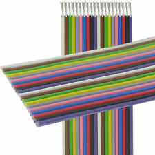 14 m Flachbandkabel Stegleitung 20x0,14mm² Farbfolge DIN47100 rein Cu verzinnt
