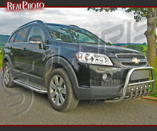 CHEVROLET CAPTIVA 2006-2011 SIDE STEPS / RUNNING BOARDS  STAINLESS STEEL