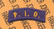 US Army Air Force P.I.O. Public Information Officer tab arc patch