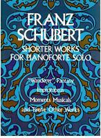 Schubert: Muster Wanderer, Impromptus, Moments Musik E Weitere 12 Stück Piano