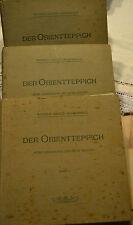 Der Orientteppich-Werner ghote-Hasenbalg sroria del tappeto orientale 3 vol.1922