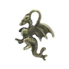 10 x Steampunk Antik Bronze Tibetanische 21mm Drachen Charme/Anhänger ZX04070