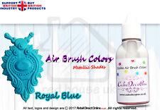 Metallic Edible Colours | Air Brush Cake Decorating | 20 ML | Frozen Blue