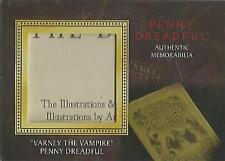 "Penny Dreadful - M02 ""Varney The Vampire, Penny Dreadful"" Memorabilia Prop Card"