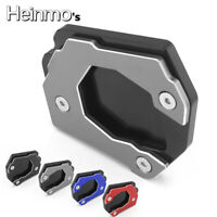 CNC Kickstand Side Stand Extension Pad Plate For BMW F800GS Adventure 2008-2016
