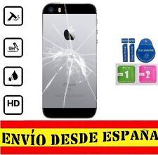 Cristal Templado Protector Pantalla Trasero APPLE IPHONE 5S / SE SET LIMPIEZ FUL