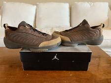 5dd960a10913 Air Jordan XIX 19 Low Cinder British Khaki Size 13.5 USED 2005