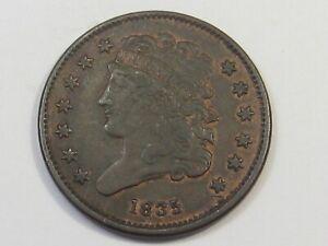 XF 1835 Classic Head Half Cent. #34