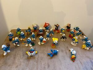 28 figurines schtroumpf collection schleich/bully