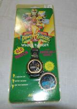 Vintage Power Rangers glo watch/power ball game - NIP - White Ranger