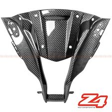 2011-2015 ZX-10R Upper Front Center Nose Dash Cover Cowling Fairing Carbon Fiber