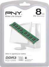 PNY - 8GB 1.6 GHz DDR3 DIMM Desktop Memory - Green