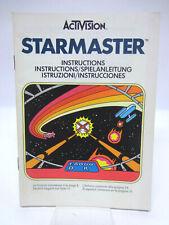 Anleitung - Handbuch - Bedienungsanleitung Atari - Starmaster