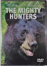 ULTIMATE WILDLIFE THE MIGHTY HUNTERS BEARS AND WOLVES IN THE WILD NATURE DVD