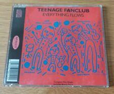 Teenage Fanclub Everything Flows 4 Tracks CD Single 1991 Creation Records
