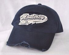 *MONTEREY CALIFORNIA* Distressed Ball cap hat OURAY sample embroidered