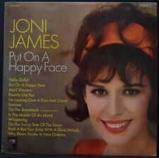JONI JAMES - PUT ON A HAPPY FACE ORIG MGM STEREO SE 4248 US PRESS RARE!