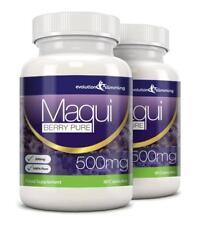 Maqui Berry Antioxidante 500mg 180 cápsulas Evolution Slimming pérdida de peso